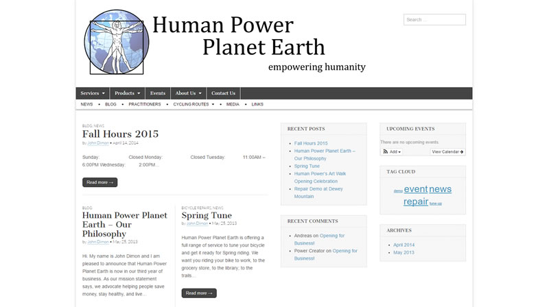 Human Power Planet Earth